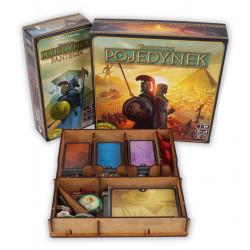 Jeux de société - Insert 7 Wonders Duel + Expansion
