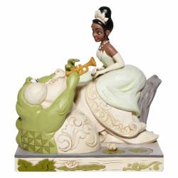 Figurine Disney Tradition White Tiana et Louis