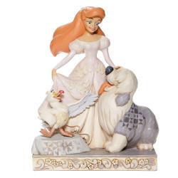 Figurine Disney Tradition collection White d'Ariel, Eurêka et Max
