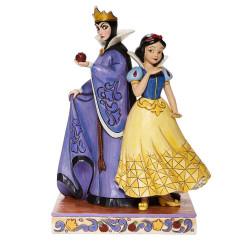 Figurine Disney Tradition Blanche Neige & La Méchante Reine Grimhilde