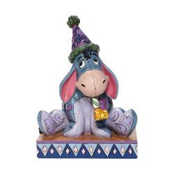 Figurine Disney Tradition Bourriquet mélancolie de l'anniversaire - Eeyore Birthday