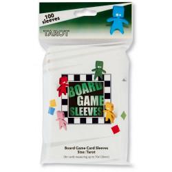 Board Game Sleeves 100 pochettes Tarot 70 x 120 mm