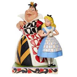 Figurine Disney Tradition Alice & la Reine de Coeur