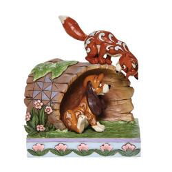 Figurine Disney Tradition Rox & Roucky