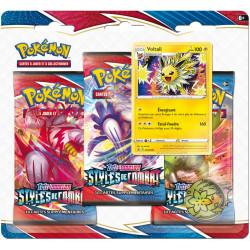 Booster Tri-Pack Pokémon EB05 - Styles de Combat - Voltali