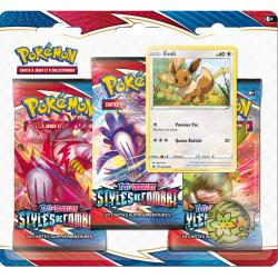 Booster Tri-Pack Pokémon EB05 - Styles de Combat - Evoli