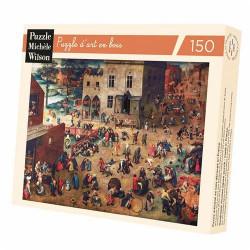 Puzzle Michèle Wilson : Brueghel : Jeux d'enfant - 150 Pièces