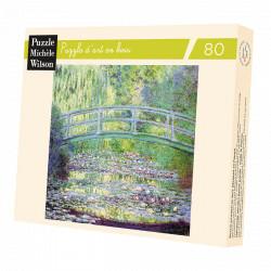 Puzzle Michèle Wilson : Monet : Le pont japonais - 80 Pièces