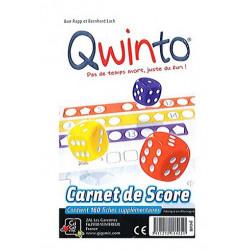 Jeux de société - Qwinto Recharge Bloc de Score