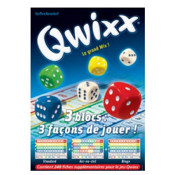 Jeux de société - Qwixx Recharge bloc de score