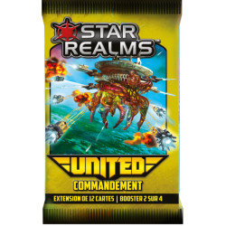 Star Realms extension United : Commandement