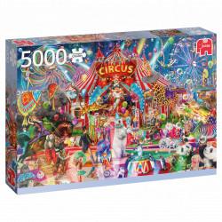 Puzzle Jumbo : Une nuit au Cirque - 5000 Pièces
