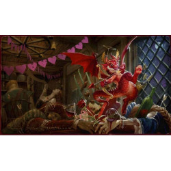 Tapis de jeu playmat Dragon Shield illustré - Valentine 2020 Dragon