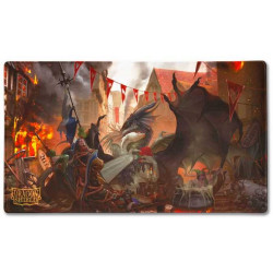 Tapis de jeu playmat Dragon Shield illustré - Valentine Dragon 2021