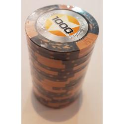 20 Jetons de poker Crown - Marqué 1000