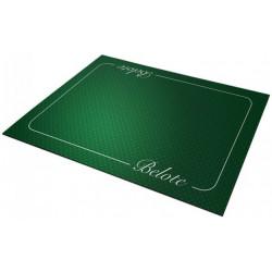 Tapis Belote Coeur de Pique Excellence Vert