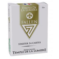 Starter 54 cartes 7 Fallen - Royaume Temple de la lumière