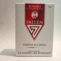 Starter 54 cartes 7 Fallen - Royaume Eondra : La Terre des Dragons