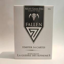 Starter 54 cartes 7 Fallen - Royaume Sans Fin : Le Grand Voile