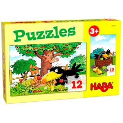 Puzzle HABA : Le Verger - 12 Pièces Chacun