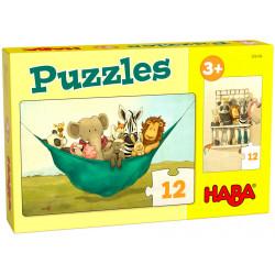Puzzle HABA : Udo le Lion - 12 Pièces Chacun