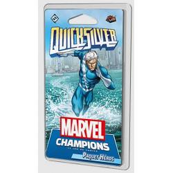 Jeux de société - Marvel Champions : Le Jeu De Cartes - QuickSilver Vif-Argent