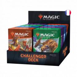 Challenger Deck Magic The Gathering : Lot 4 Challenger Decks 2021 différents
