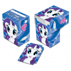 Deck box illustrée boite de rangement Ultra Pro My Little Pony - Rarity