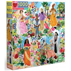 Puzzle Eeboo : Le jardin du poête - 1000 Pièces