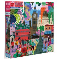 Puzzle Eeboo : La vie Londonnienne - 1000 Pièces
