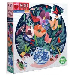 Puzzle Eeboo : Nature morte avec des fleurs - 500 Pièces