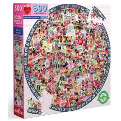 Puzzle Eeboo : Les femmes marchent ! - 500 Pièces