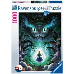 Puzzle Ravensburger Disney : Les Aventures d'Alice - 1000 Pièces