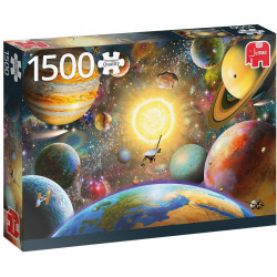 Puzzle Jumbo : Floating in Outer Space - 1000 Pièces