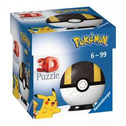Puzzle Ravensburger 3D Ball - Pokemon Hyper Ball - 54 Pièces