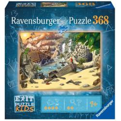 Jeux de société - Exit Puzzle : L'Aventure des Pirates - 368 Pièces