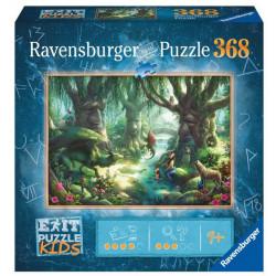 Jeux de société - Exit Puzzle : La forêt Magique - 368 Pièces