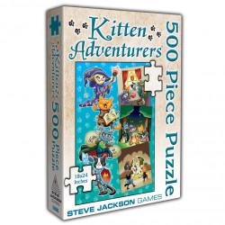 Puzzle Jumbo : Kitten Adventurers - 500 Pièces