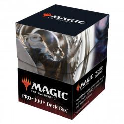 Deck box illustrée boite de rangement Ultra Pro 100+ MTG Magic Strixhaven - Shaile, Dean of Radiance & Embrose Dean of Shadow
