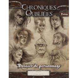 Jeux de rôle - Chroniques Oubliées : Fantasy - Dossier de Personnage
