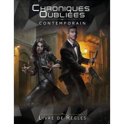 Jeux de rôle - Chroniques Oubliées : Contemporain - Livre de Règles