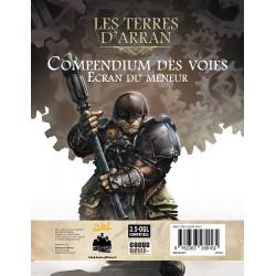 Jeux de rôle - Les Terres d'Arran : Compendium des voies - Ecran du Meneur