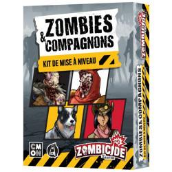 Jeux de société - Zombicide (Saison 1) - 2ème Edition - Zombie et compagnons - Kit de mise à niveau V1-V2