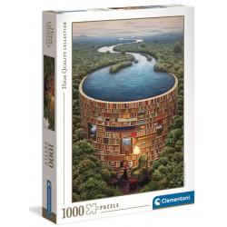 Puzzle Clementoni : HQC Bibliodame - 1000 Pièces