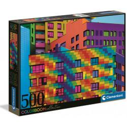 Puzzle Clementoni : Collection Colorboom : Squares - 500 Pièces