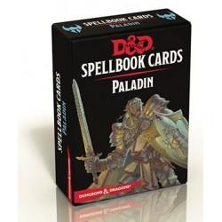 Jeux de rôle - Dungeons & Dragons 5e Éd : Spellbook Cards - Paladin - Version française de Donjon et Dragon