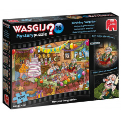 Puzzle Wasgij : Mystery 16 - Anniversaire Surprise ! - 1000 pièces