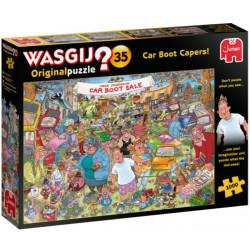 Puzzle Wasgij : Original 35 - Caprices de bagnoles ! - 1000 Pièces