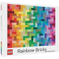 Puzzle Abrams & Chronicle : LEGO Rainbow Bricks Puzzle - 1000 Pièces