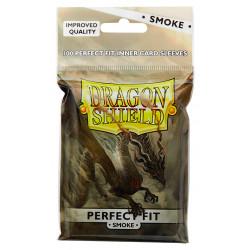 Protège-cartes Dragon Shield - 100 Standard Perfect Fit Smoke